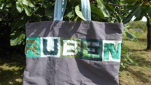 Le sac de Moyenne Section de Ruben