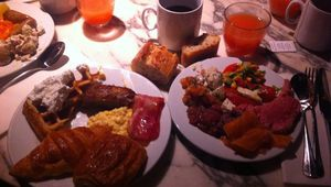 Le brunch de Mama Shelter
