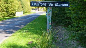 Le Pont du Marson (sur un célèbre ruisseau)
