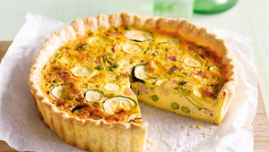 Recette Quiche de printemps simple et facile