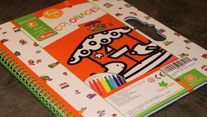 Le livre de coloriage Villes de Au Sycomore pour les 3 ans et +