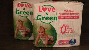 Les culottes d'apprentissage Love & Green