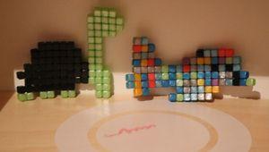 Découverte des Qixels via la recharge de cubes métalliques [Kanaï Kids]