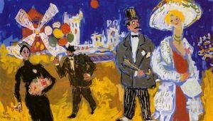 Fikret Moualla un des peintres de l'école turque de Paris