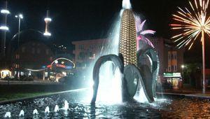 La fontaine à l'épi de mais, Alibeyköy à Istanbul