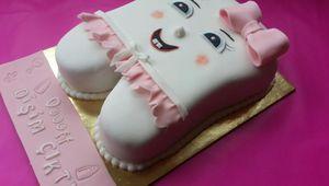 Mon défi du mois de novembre : le gâteau d'anniversaire pour l'école !