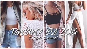 Welcome Summer ! | Tendance