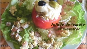 Chlada beljembaris (Salade de crevettes)