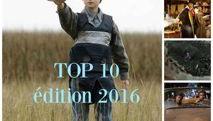 LE TOP 10 des films - édition 2016