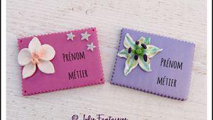 Badges à personnaliser !