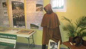 A la Maison du Tourisme de Lorgues, le berger veille.