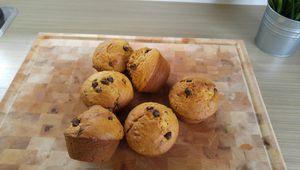 Muffins à l'avoine et beurre de cacahuètes