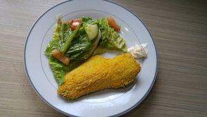 Filet de truite pané