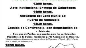 Actos Día de Andalucía