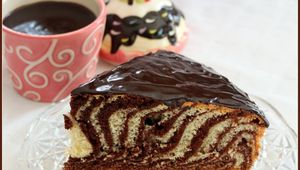 Mabre italien zebra cake