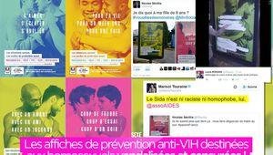 Les affiches de prévention anti-VIH destinées aux homosexuels vandalisées et censurées ! (mis à jour) #loveislove