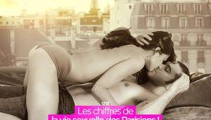 Les chiffres de la vie sexuelle des Parisiens ! #hot