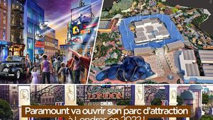 Paramount va ouvrir son parc d'attraction à Londres en 2022 ! #LondonParamount