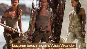 Les premières images d'Alicia Vikander dans le rôle de Lara Croft ! #TombRider