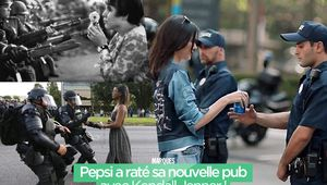 Pepsi a raté sa nouvelle pub avec Kendall Jenner ! #polémique
