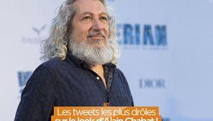 Les tweets les plus drôles sur le look d'Alain Chabat ! #Santa