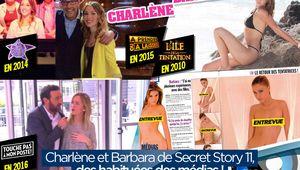 Charlène et Barbara de Secret Story 11, des habituées des médias ! #SS11