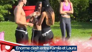 Enorme clash entre Kamila et Laura dans le Campus des Secrets ! #SS11