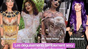 Les déguisements terriblement sexy des stars pour #Halloween !
