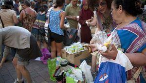 Las colas del hambre en España