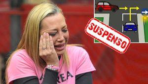 Belén Esteban, la reina del pueblo suspende el examen teórico del carnet de conducir