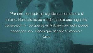 Osho sobre ser espiritual