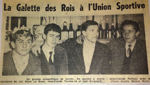 Photo ancienne USC 1960