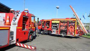 Vente des calendriers des pompiers