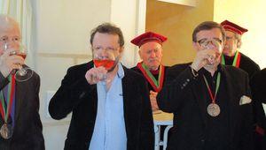 Montoire : Messire Thierry Fleury, officier de la Confrérie des Chevaliers de la Puette et du Franc-Pinot