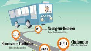 Montoire : le Bus de la création d'entreprises