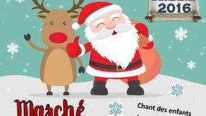 La Chartre : Marché de Noël