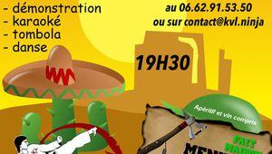 La Chartre : Le club de karaté organise une soirée mexicaine
