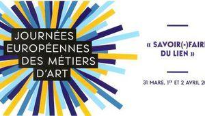 Vallée du Loir : Journées Européennes des Métiers d'Art