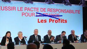Pacte de responsabilité, CICE, etc. => où sont passés les millions ?