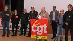 Voeux de l'Union locale CGT