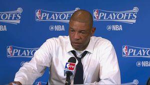 Doc Rivers n'a pu retenir ses larmes en conférence de presse