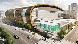La future Arena des Milwaukee Bucks à la pointe de la haute technologie