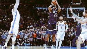 Andrew Wiggins climatise la Chesapeake Arena sur un incroyable tir à 3-points au terme d'un match irrespirable