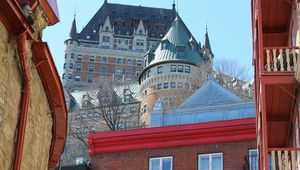 Un petit tour dans le vieux-Québec, 14 avril 2017