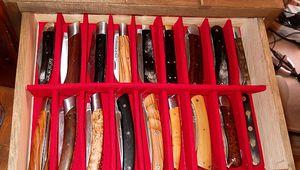 Rangement à couteau : suite
