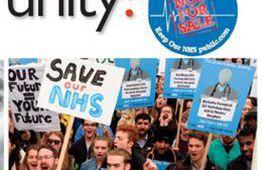 4 mars 2017: Manifestation nationale à Londres pour défendre le NHS, système national de santé
