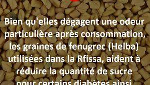 Les graines de fenugrec (Helba)