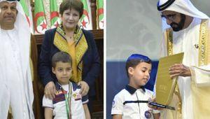 L'écolier de 6 ans, Mohamed Farah Djeloud, consacré champion 2016 de « Arab Reading Challenge »