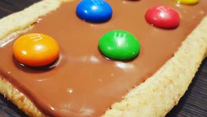 biscuits choco aux m&m's