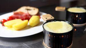 Raclette à la bougie